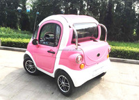 Good quality mini 2 seats electric car with trunk