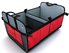 Auto cargo ctorage container for car (Red/Black)