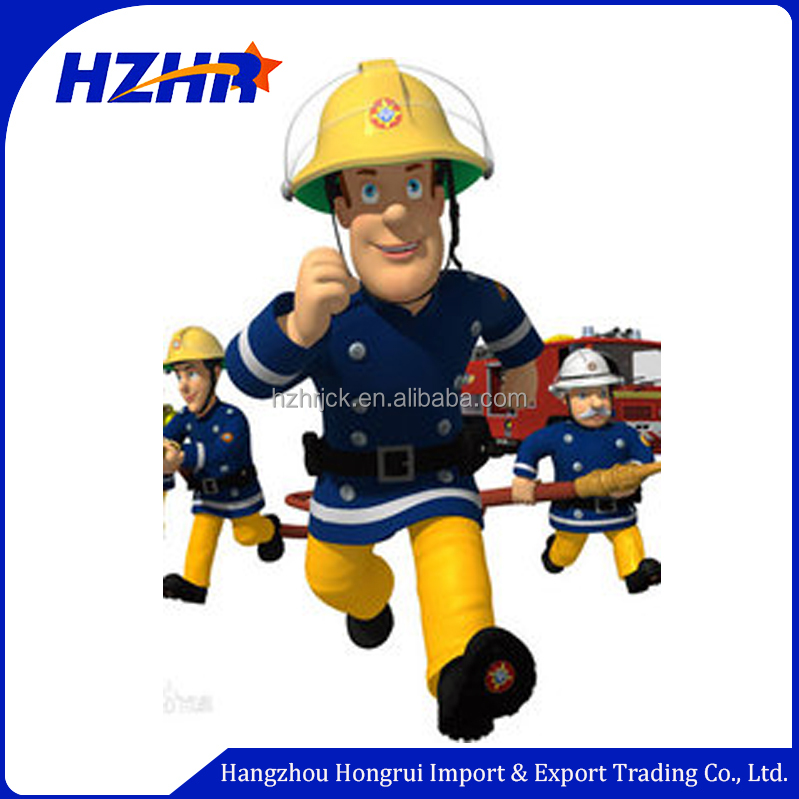 New Product little boy costume cartoon movie fireman sam character cosplay kids costume