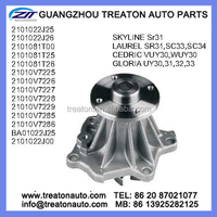 WATER PUMP FOR NISSAN SKYLINE SR31 LAUREL SR31,SC33,SC34 CEDRIC VUY30,WUY30 GLORIA UY30 2101022J25 2101022J26