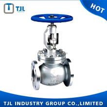 WCB body API globe valve in flange type
