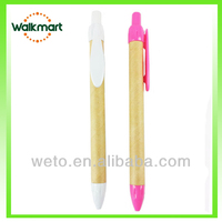 plastic paper eco recycled pen