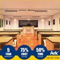 Ark Top Quality Good Price Long Lifespan Flatpack Prefabricated Steel Oil Field Portable classrooms