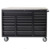 USA pro 28 Drawers 72 Inches Heavy duty materforce used steel garage storage tool cabinet