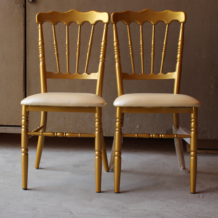 Hot sale aluminium tiffany <strong>chair</strong> with low price