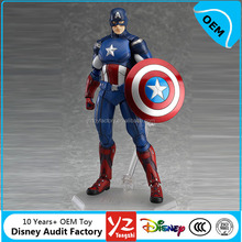 Hot toys Marvel Titan Hero Series Captain America Figure anime action PVC figure OEM manufacturer