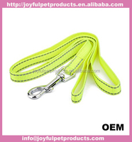 colorful nylon webbing dog leash Factory Wholesale Cheap Nylon Two Layer Running Hands Free Dog Leash
