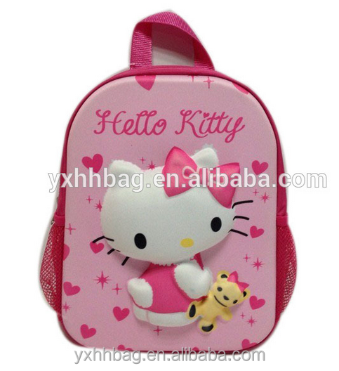 Name brand school bag kids cartoon picture of school bag primary school bag(YX-Z017)