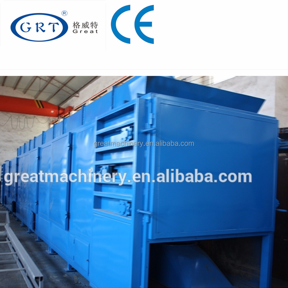 CE industrial knitting wool belt hot air dryer /drying machine/drying equipment on price