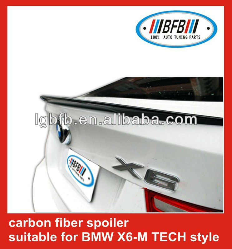 FIT FOR BMW 08-12 X6 E71 PERFORMANCE REAR WING TRUNK SPOILER