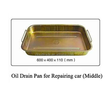 Steel Waste oil basin For Repairing Car/Car Oil Pans/Oil Drip Tray
