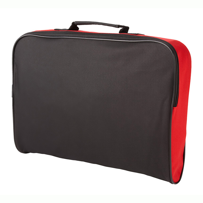 OEM factory and custom-made 600d polyester cheap conference bags document carry bag