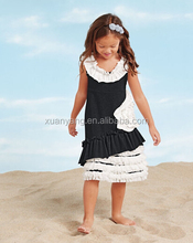 Wholesale Plus Size Dreess Baby Girls Cotton Princess Dress