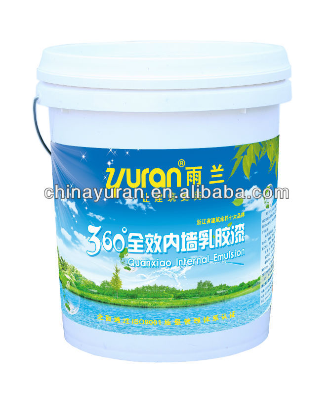 Formaldehyde Free Acrylic Indoor Wall Paint