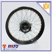 Universal motorcycle aluminum 17 inch spoke wheel