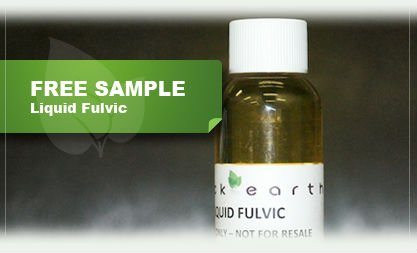 Liquid Fulvic & Organo Liquid Fulvic (OMRI Listed)