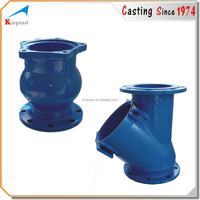 Custom hot selling metal casting ductile iron fcd550