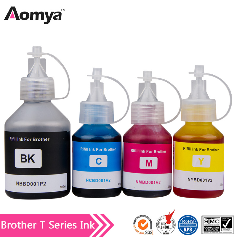 T5000 T6000 Printer ink For Brother DCP T300 ink T500W T700W MFC T800W ink tank system
