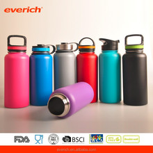 2017 Hot sale Double Wall Insulated Wide Mouth Stainless Steel Water Bottle