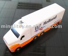 Promotion Gift Custom Logo Stress Toy Mini Pu Toy Truck