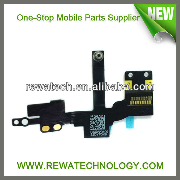 Wholesale Proximity Sensor Light Motion Flex Cable with Front Face Camera Cam For iPhone 5