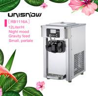 portable italian gelato commercial ice cream making machine