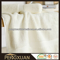 High Quality Quick-Dry Organic Terry Unbleached Cotton Towel
