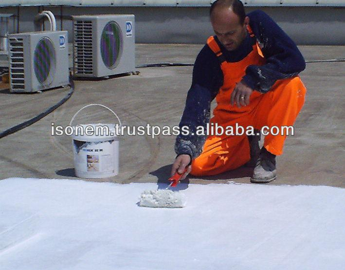 ISONEM BE 90 - LIQUID APPLIED WATERPROOFING MEMBRANE FOR ROOF WATER INSULATION, FLEXIBLE, UV RESISTANT, MADE IN TURKEY