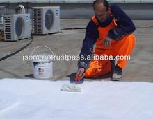 ISONEM MS POLIA - LIQUID APPLIED WATERPROOFING MEMBRANE FOR ROOF WATER INSULATION, FLEXIBLE, UV RESISTANT, MADE IN TURKEY