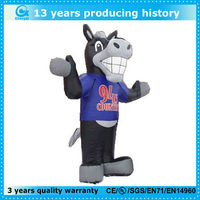 classic cartoon inflatable wolf