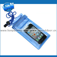 Wholesale water proof pouches,clear waterproof bag