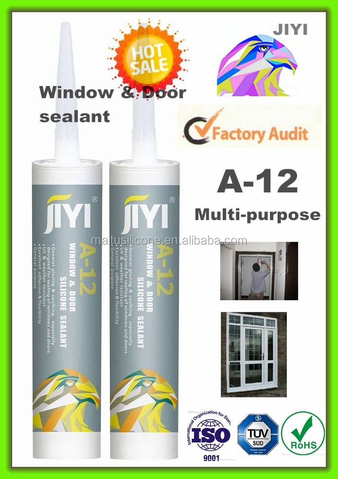 Glass and Metal Silicone Sealant/ Strong Adhesion