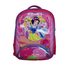 Cute cartoon export kids children 2016 backpack school bag