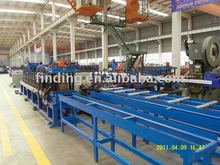 Steel sheet roll forming machine line
