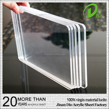 high gloss heat resistant 3mm iridescent clear cast acrylic plastic sheet price