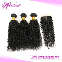 Best selling factory price 100% virgin brazilian curly cambodian human hair