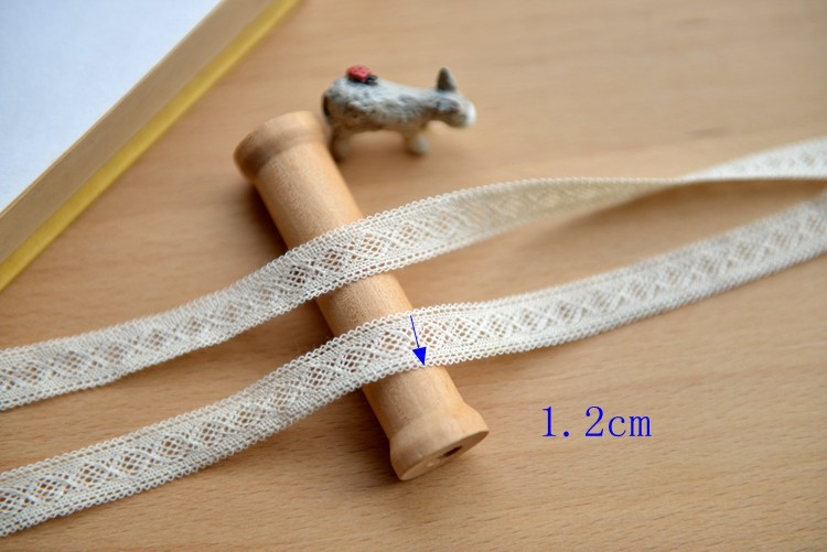 100% cotton lace trims for dresses
