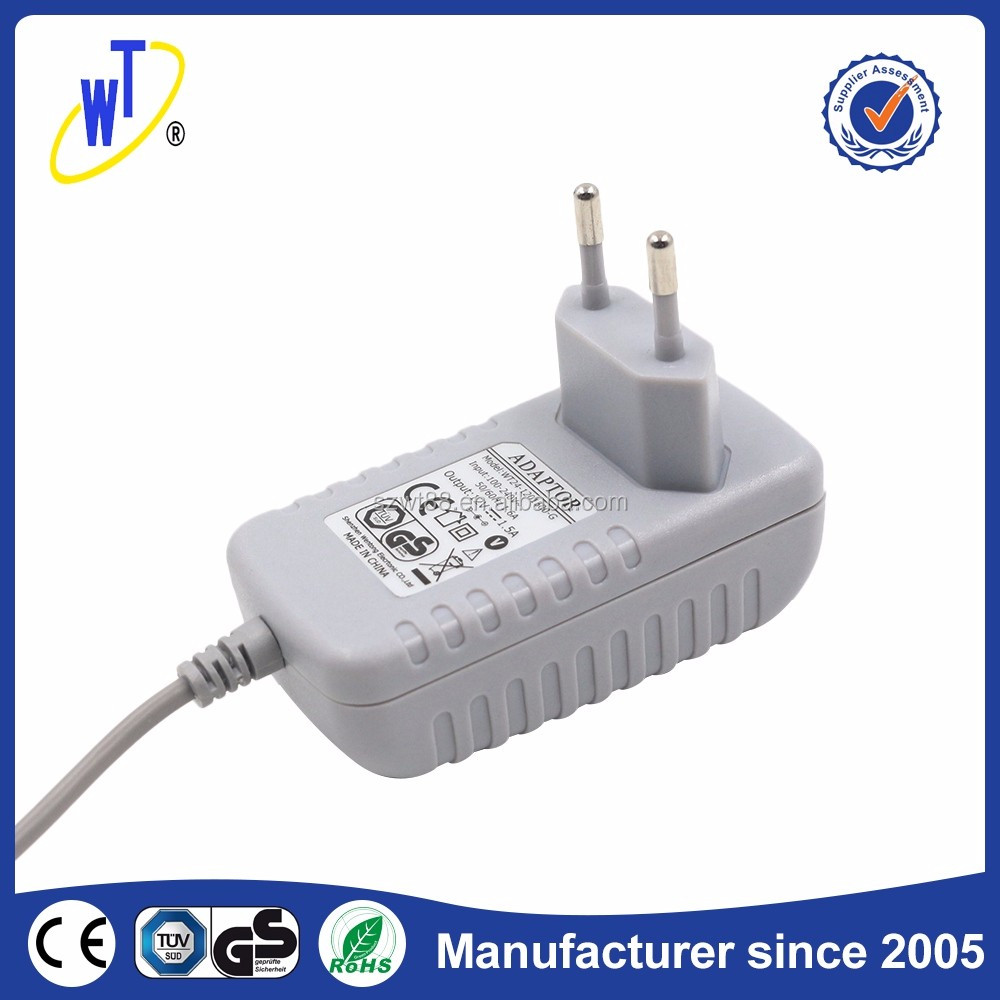 100V 240V AC Input 6V 9V 10V 12V 24V 0.75A 1A 2A Plug In Power Adapter