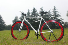 manufacturer mixed colour 700c aluminum alloy custom bikes fixed gear bicycle