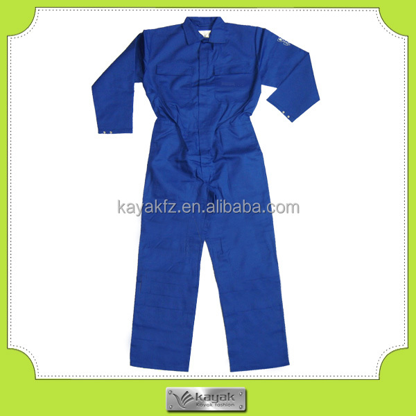 Royal Blue Long Sleeve Ultima Coverall Workwear For Mining Worker