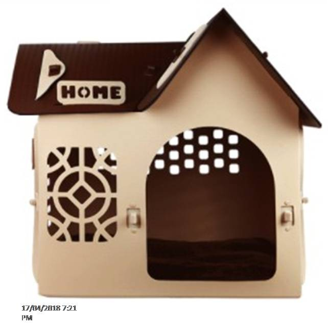 Dog Indoor Outdoor Pet Houses Detachable Plastic Dog Huts For Dog Cat Pets