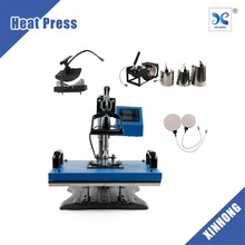 New Condition Cheap Used 8 in 1 Combo Heat Press Machine