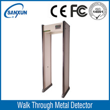 International standard walk through metal detector for airport