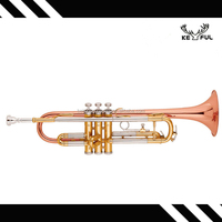 keful marvelous 3 colored trumpet
