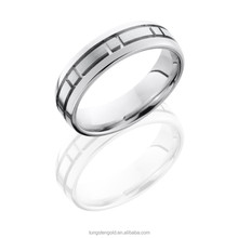 Cheap Wholesale Customized Sizes 5mm Flat Band Coolman Jewelry Ring