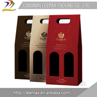 Wholesale Low Price High Quality Packaging Paper Tube Gift Wine Box