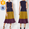 Newest design nched waist and full skirt for flattering skills for girls and ladies TW2278D