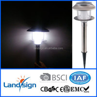 China supplier XLTD-279 solar panel classic garden lights led landscape path spot lamp