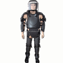 Full Body Protection Anti-riot Suit Black Riot Suit For Military