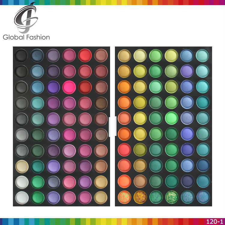 Shenzhen yify manufacturer 120colors eyeshadow makeup cosmetics